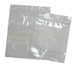 Grip Seal Bags (Write on Panel)