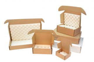 foam lined cardboard box