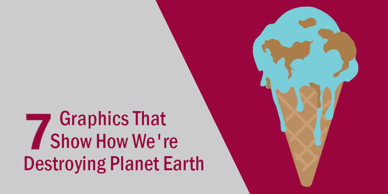 7 Visualisations That Show How We're Destroying Planet Earth